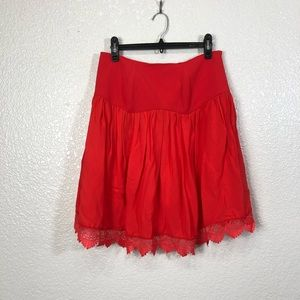 NWT Lovers + Friends Red Strapless Open Back Top